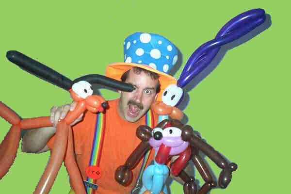 Magician in Greensboro NC, Clown in Burlington NC